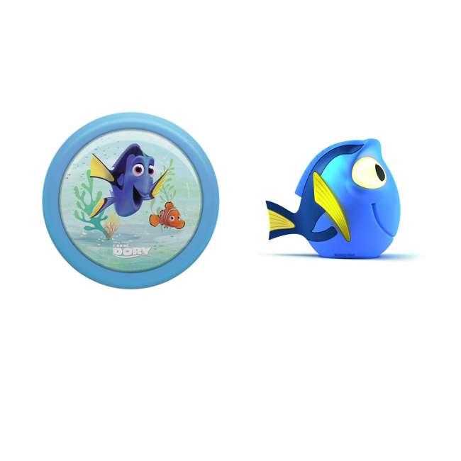 PLC-7192435U0 + PLC-7176890U0 Philips Disney Pixar Finding Dory Night LightPhilips Disney Finding Dory Pals Portable Light Friend
