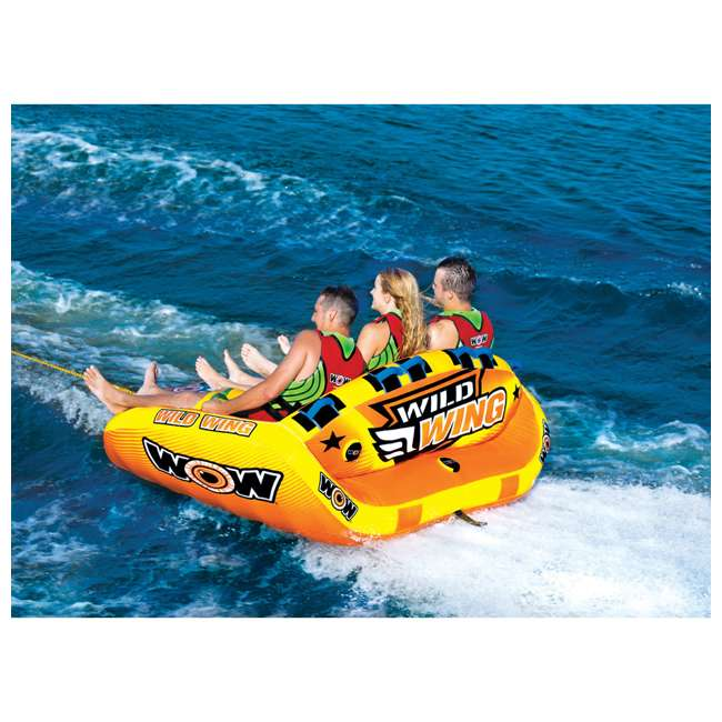 18-1130 World of Watersports Wild Wing 2 Rider Inflatable Tube 2