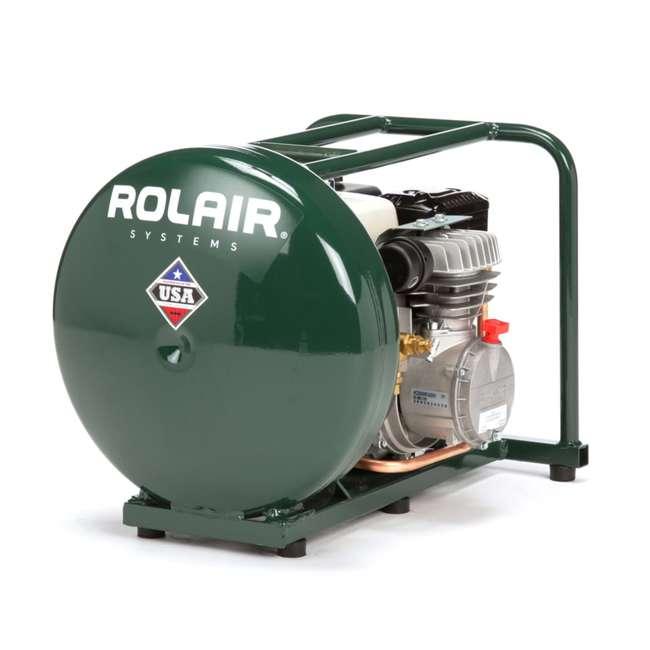 GD4000PV5H-U-B Rolair 4.5 Gallon Gas Powered Cordless Small Portable Air Compressor (Used)