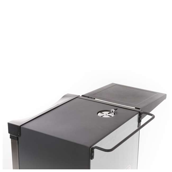 20100814 Masterbuilt 20100814 Universal Electric Smoker Side Shelf Space Accessory, Black 2