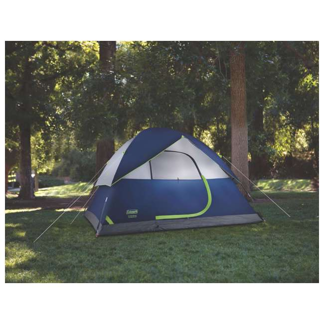 2000024583 Coleman Sundome 6 Person Tent w/ Rainfly (2 Pack) 4