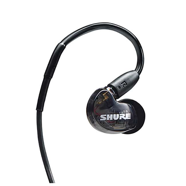 4 x SE215-K-BT1 Shure Sound Isolating Dynamic MicroDriver Bluetooth Earphones, Black (4 Pack) 4