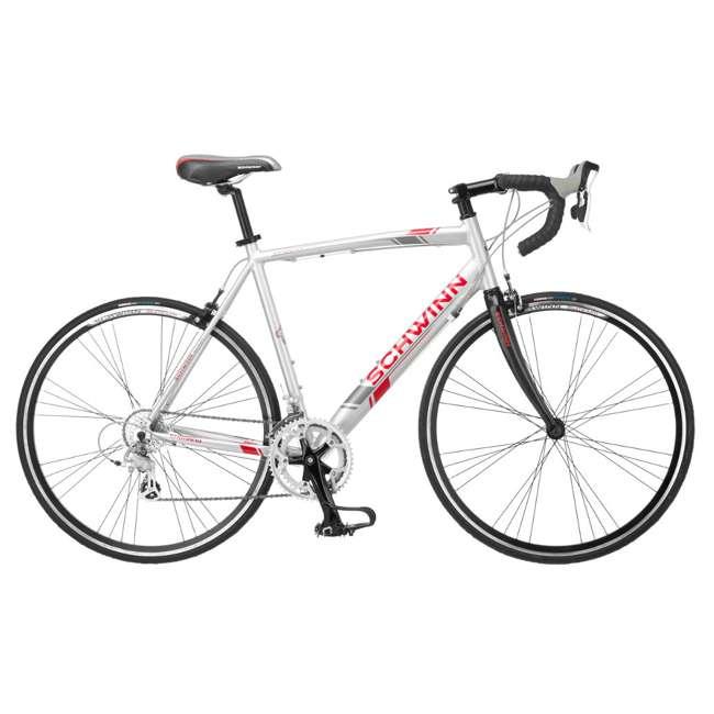 S5491 + 102DN-R Schwinn 700C Phocus 1600 Womens Drop Bar Road Bicycle & 2 Bike Car Trunk Rack 2