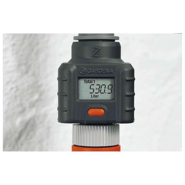 GARD-9188-U Gardena Water Smart Flow Meter Water Timer 1