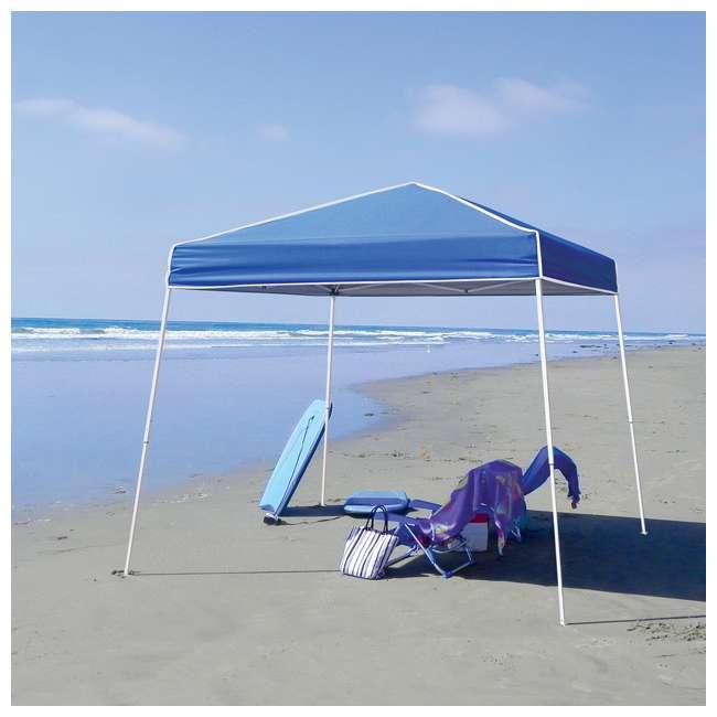 ZSB10INSTBL + ZS1SR10AL Z-Shade 10 x 10-Foot Horizon Shade Canopy with Screen Walls 4