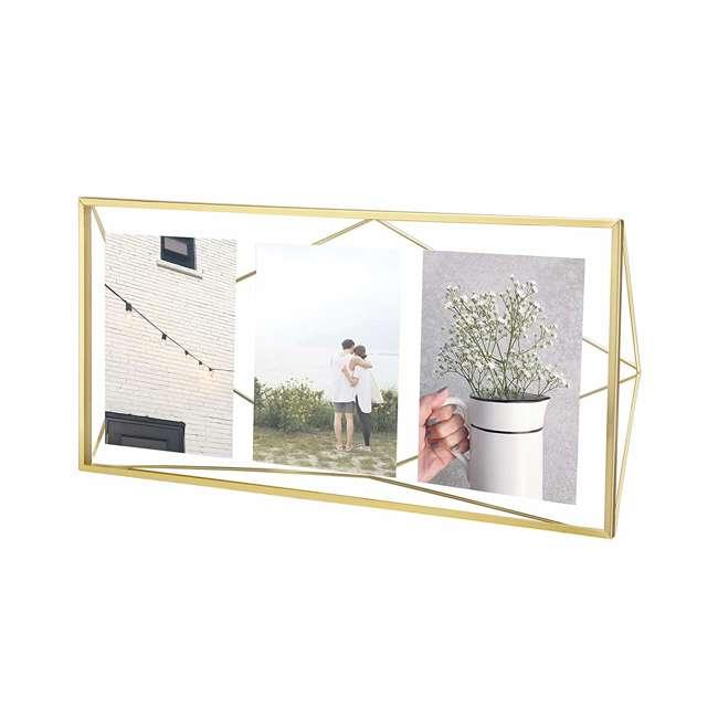 313019-221 Umbra 5-x-7-Inch Prisma Picture Frame, Gold