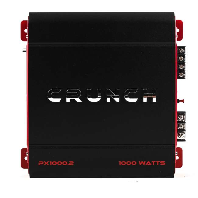 3 x PX-1000.2 Crunch 2 Channel 1000 Watt Amp Car Audio Stereo Amplifier | PX-1000.2 (3 Pack) 2