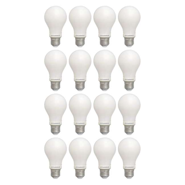 4 x SYL-78036-4PK Sylvania 60 Watt Equivalent Soft White Dimmable LED Light Bulb (16 Bulbs)