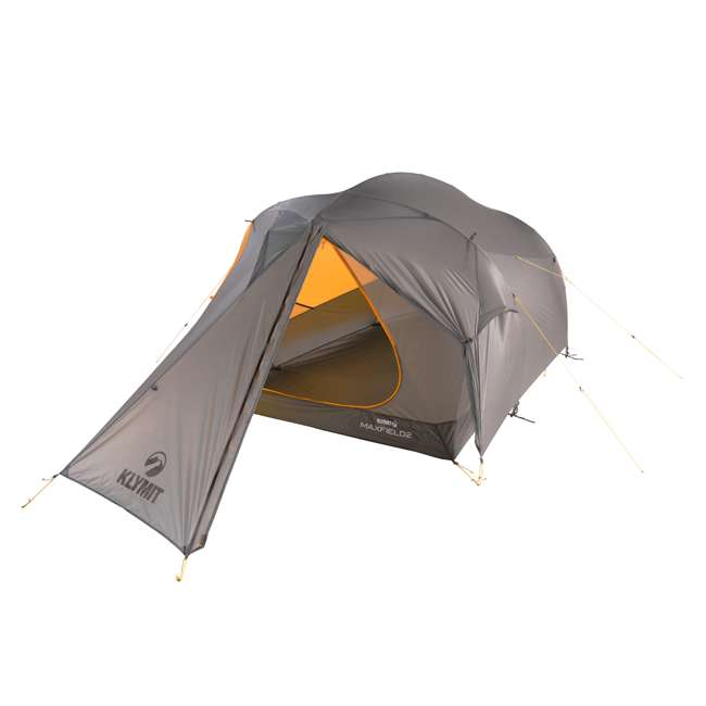 09M2OR01B Klymit 09M2OR01B Maxfield 2 Person 3 Season Lightweight Backpacking Camping Tent
