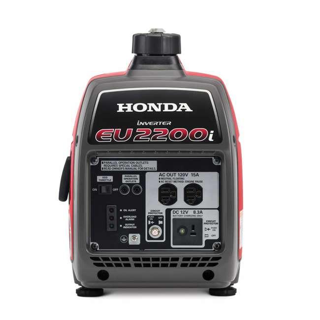 EU2200ITA Honda EU2200ITA 2200 Watt Super Quiet Portable Gas Powered Generator 1