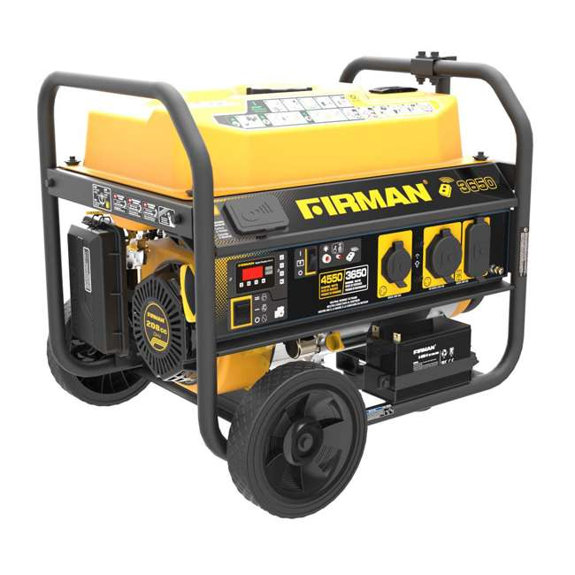 P03608 Firman P03608 3650W Wheeled CARB Portable Generator with Remote