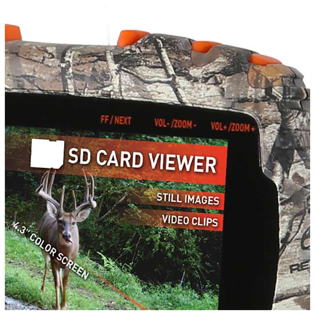 Wildgame Innovations Appview Sd Card Reader Apple: Wildgame Innovations VU50 4.3-Inch Handheld SD Card Media