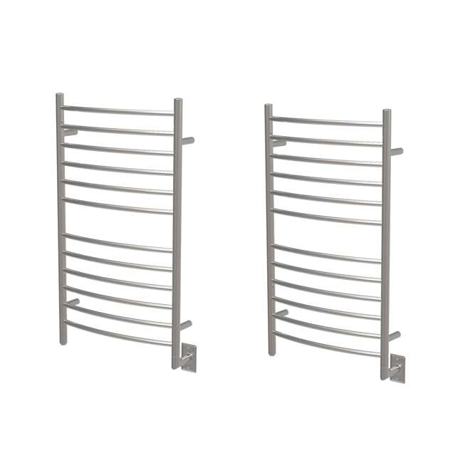 RWH-CP Amba Radiant Hardwired Curved Electric Towel Warmer (2 Pack)