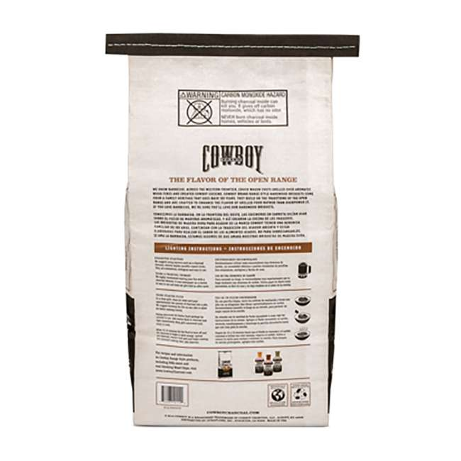 4 x 26014 Cowboy 14 LB All Natural Range Hardwood Charcoal Briquets for Grilling (4 Pack) 4