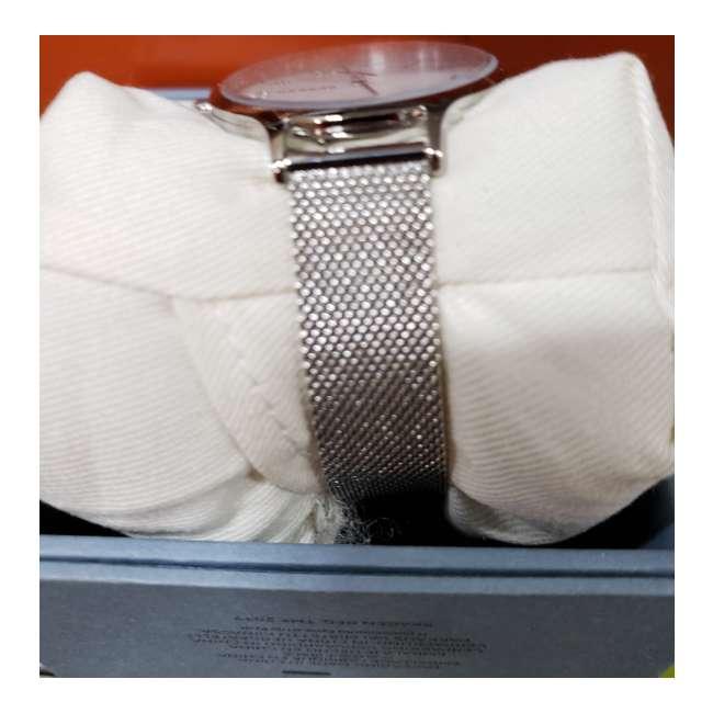 SKW2701-U-A Skagen Anita 36mm 3 Hand 5 Steel-Mesh Mother of Pearl Womens Watch  (Open Box) 1