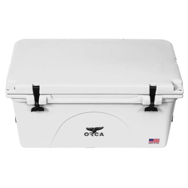 ORCW075 ORCA 75-Quart 15.6-Gallon Ice Cooler, White 2