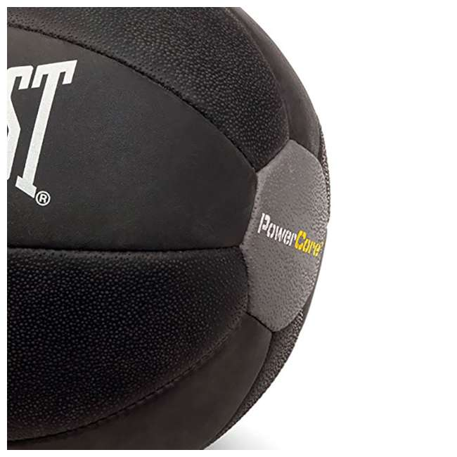 6512-EVERLAST Everlast PowerCore 9-Pound Fitness Medicine Ball, Black (2 Pack) 5