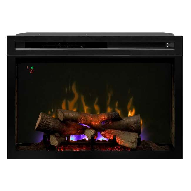 PF3033HL-OB Dimplex Fire XD Multicolor 33-Inch Electric Log Firebox(Open Box) 4