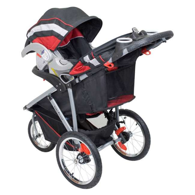 Baby Trend Velocity Swivel Jogging Stroller Travel System