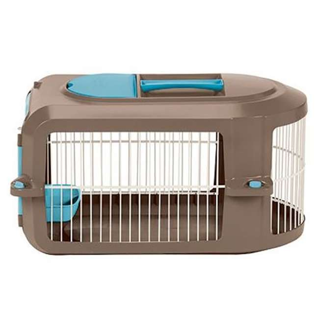 PCR2315A Suncast Deluxe Small Pet Travel Carrier with Food and Water Tray (Open Box) 3