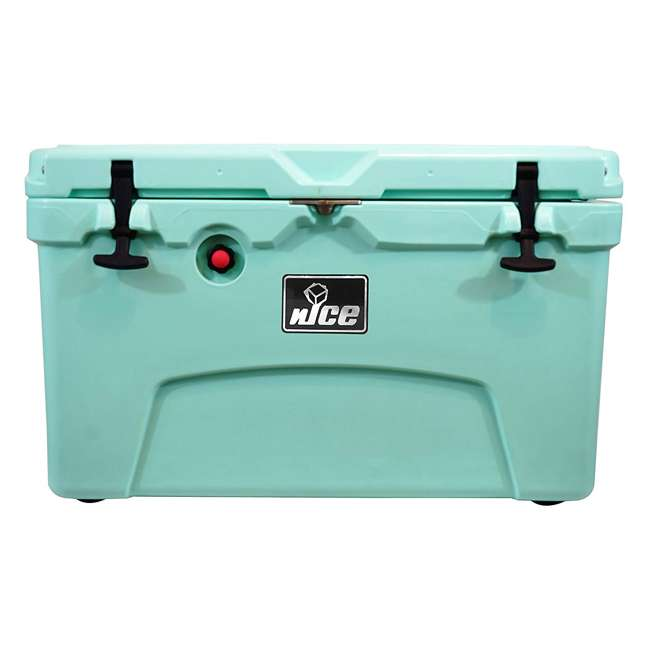 CKR-514256-U-D nICE 45 Quart Insulated Ice Chest Beverage Cooler with Handle, Seafoam (Damaged)