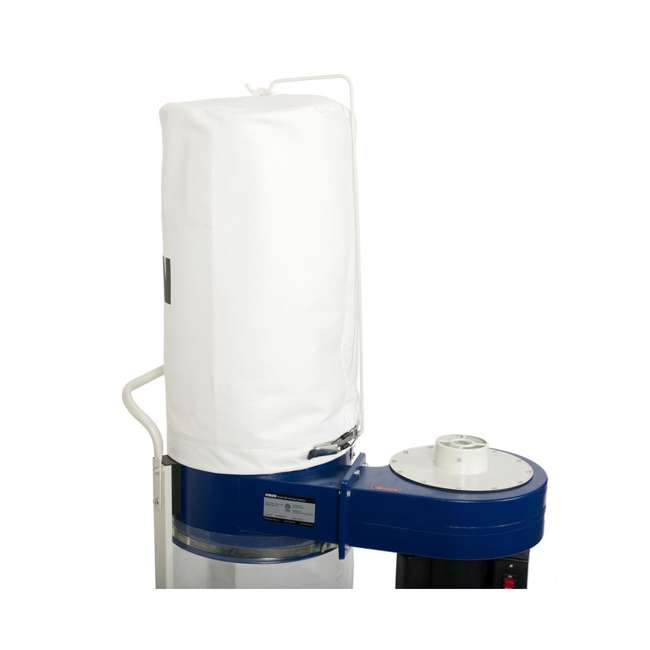 60-100 RIKON Power Tools  Dust Collector with Built In Casters, 1 Horsepower 2