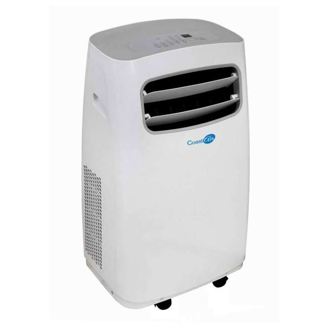 CEP-081A Coast Air CEP-081A 8000 BTUs Portable Wheeled Air Conditioner Floor Unit, White 1