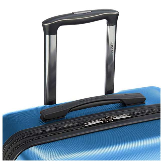 40386597322 DELSEY Paris Comete 2.0 2-Piece 21, 28 Inches Spinner Upright Travel Bag, Blue 3
