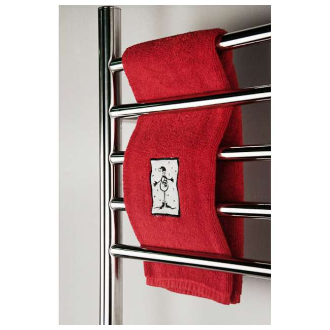 RWP-SB Amba  RWP-SB Radiant 10-Bar Plug-In Heated Towel Warmer, Brushed 1