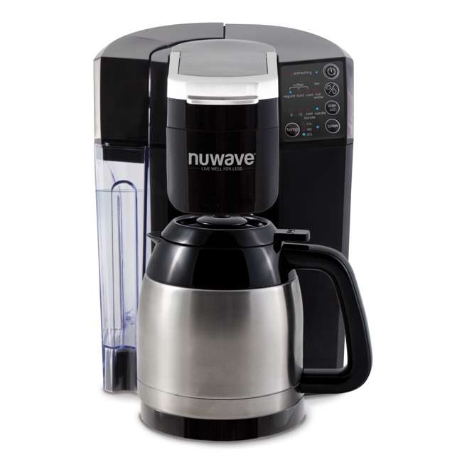 NW-45011 [Copy 1] NuWave BruHub Single Serve/Full Pot Smart Coffee Maker Brewer Machine System