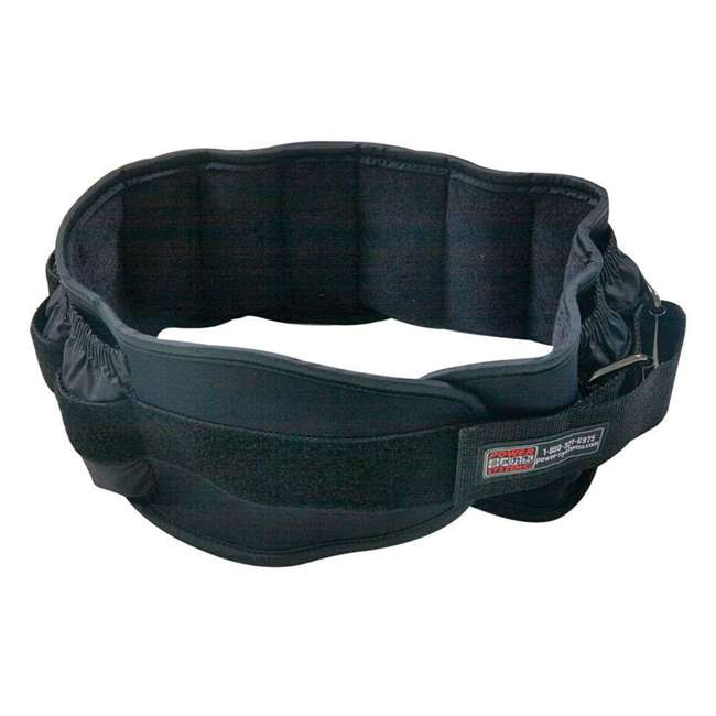 90560 Power Systems 20 Pound Adjustable VersaFit Weighted Workout Fitness Belt, Black 1