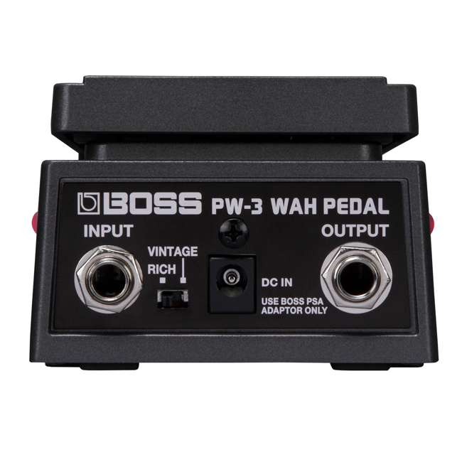 PW-3-OB Boss PW-3 Wah Tones Rugged Space-Saving Effects Pedal (Used) 4