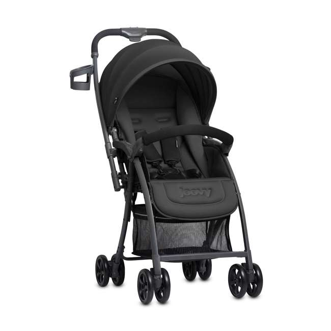 JVY-8097 Joovy Lightweight Infant Bassinet Balloon Canopy Stroller, Black