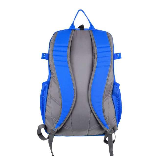UASB-HBP2-RY Under Armour Hustle II Kids Baseball Softball Bat Backpack Equipment Bag, Blue 1
