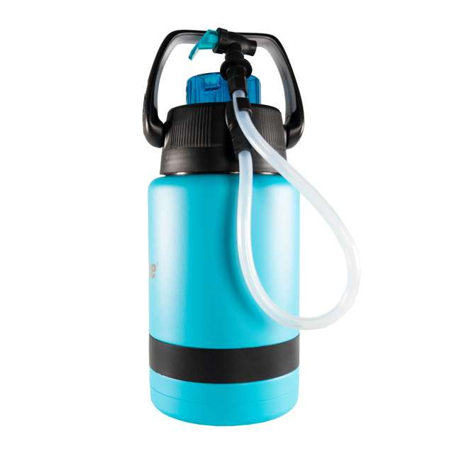 TPF-518735 nICE Coolers Pump2Pour 1 Gallon Insulated Jug with Hose and Spout, Miami Blue 3