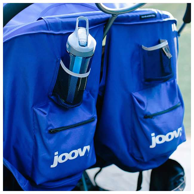 JVY-8077 Joovy ScooterX2 Side-by-Side Double Jogging Stroller, Black 2