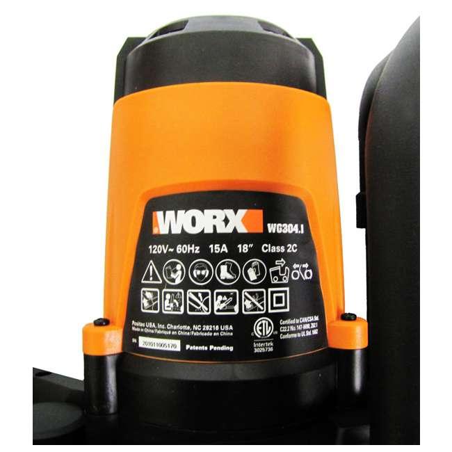 WG304 Worx WG304 18-Inch 4-HP 15-Amp Electric Chain Saws (Pair) 3