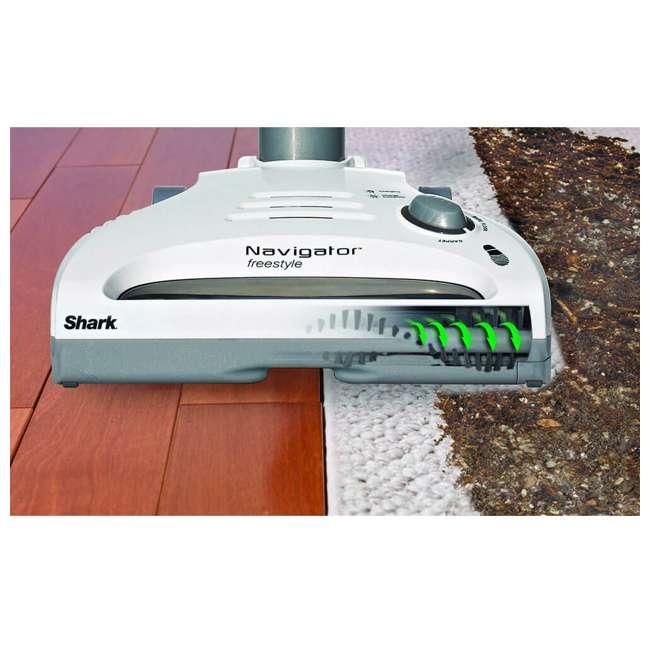 SV1105Z_EGB-RB Shark Navigator Freestyle Stick Bagless Cordless Vacuum (Certified Refurbished) 2