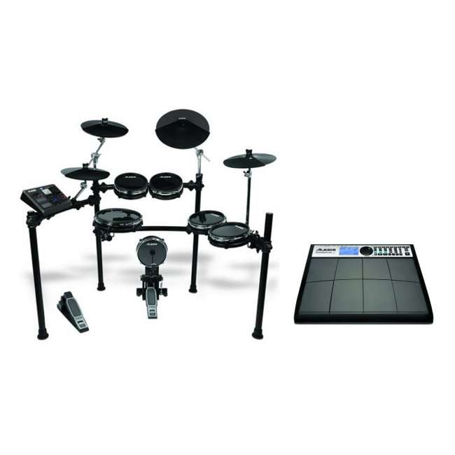 alesis dm10 studio kit 6 piece electronic drum set performance pad pro 8 pad percussion kit. Black Bedroom Furniture Sets. Home Design Ideas