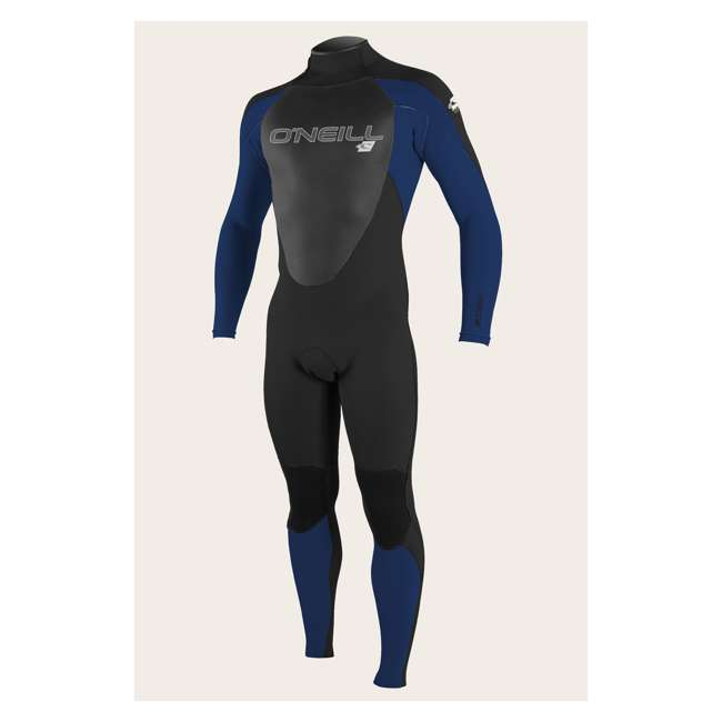 4211-G45-M Epic 4/3 MM Thick Back Zip Full Body Wetsuit, Medium