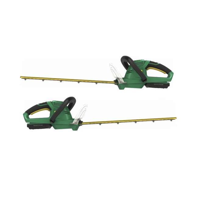 """WE-HT-967701601 Weed Eater 16"""" Dual Action Battery-Powered Hedge Trimmer & Battery/Charger 2Pack"""