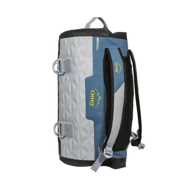 77-57794 Yampa 35 Liter Dry Duffle Waterproof Backpack Bag, Hazy Harbor Gray and Blue