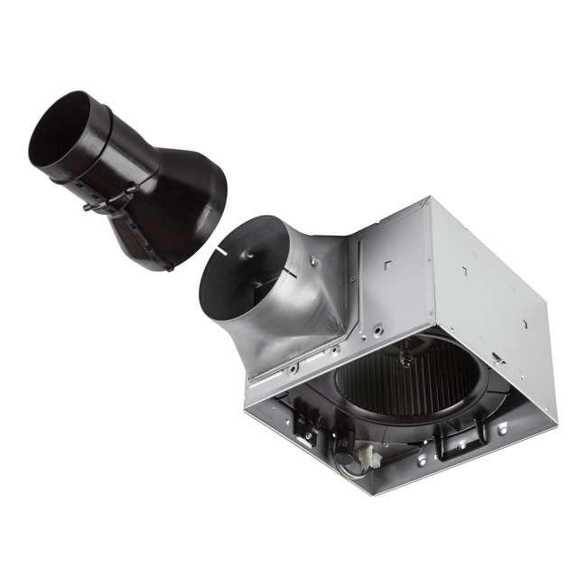 BR-RB80L Broan RN80L Ultra Pro Series Single-Speed Fan with Light 2