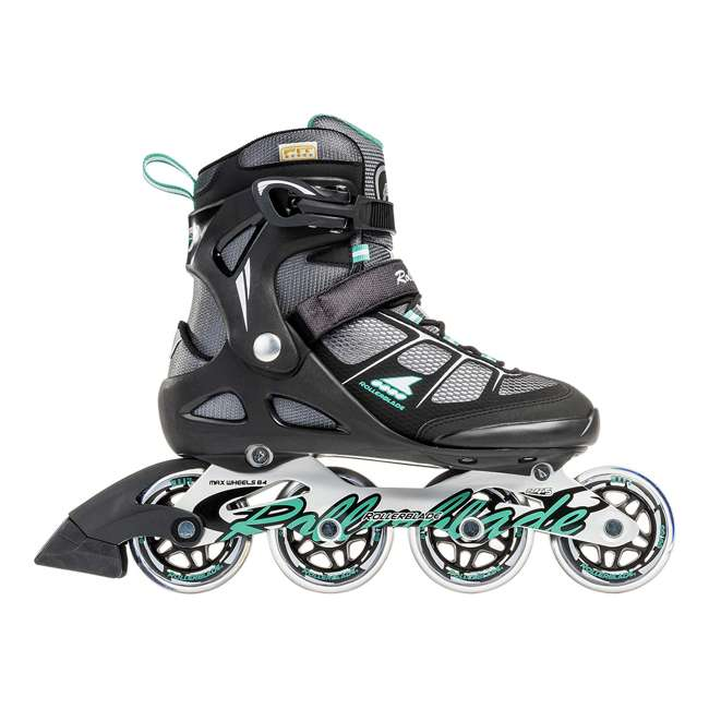 07625800824-7 Rollerblade USA Macroblade 80 Women's Adult Fitness Inline Skates Size 7, Green 4