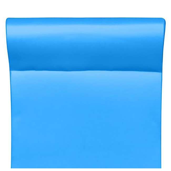 8080218 + 8032026 + 8032035 TRC Recreation PVC Drying Rack, Bronze w/ TRC Recreation Pool Loungers 6