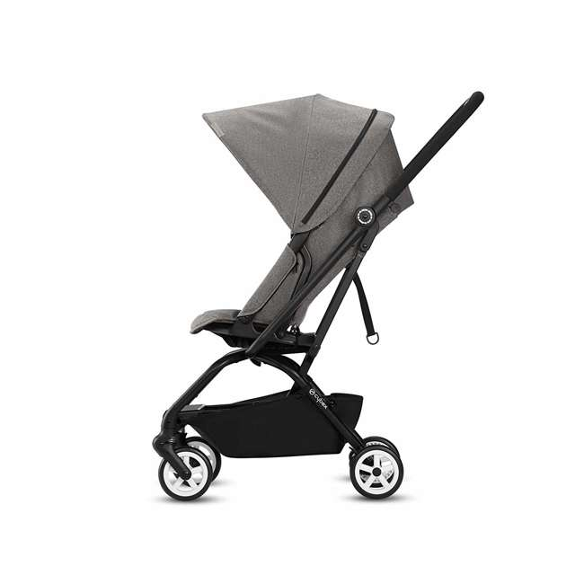 518001259  Cybex Eezy S Twist Travel System Baby and Toddler Stroller w/ Sun Canopy, Black 2