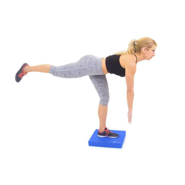 ps-1040-bp-l-blue Prosource Fit Foam Exercise Stability Physical Therapy Balance Pad Mat, Blue 2