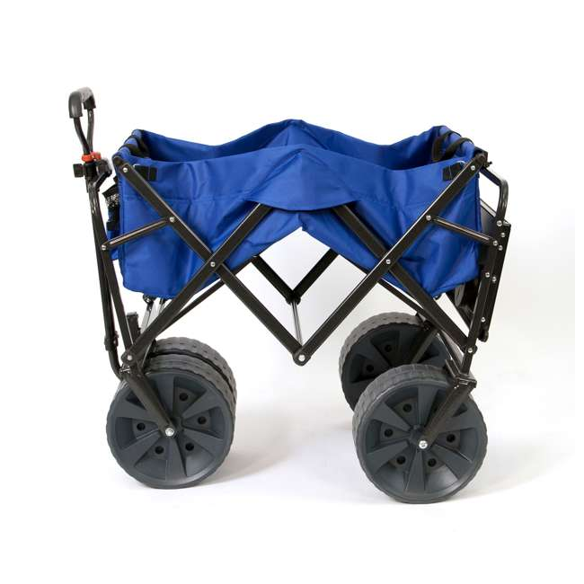 MAC-WTCB-107-BLUE-TABLE Mac Sports Collapsible Utility Wagon with Table (2 Pack) 3