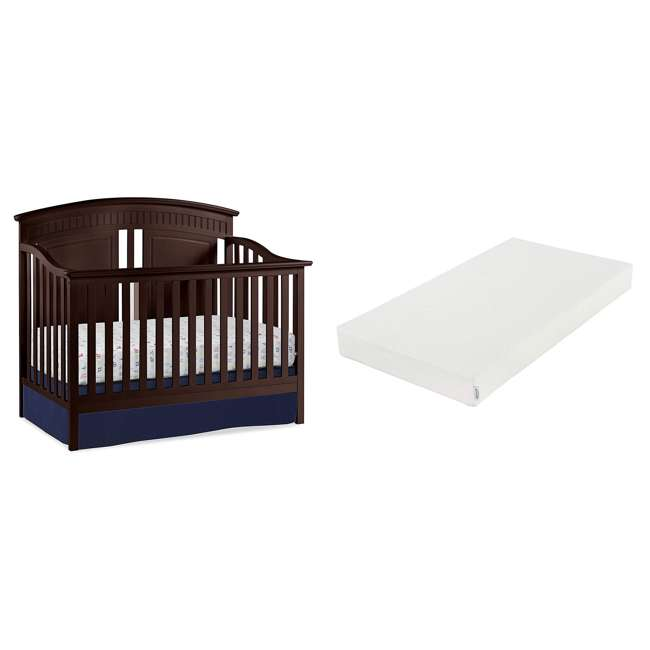 06711-300 + 04565-109 Graco Crib  Mattress & Thomasville Majestic Convertible Crib Bed