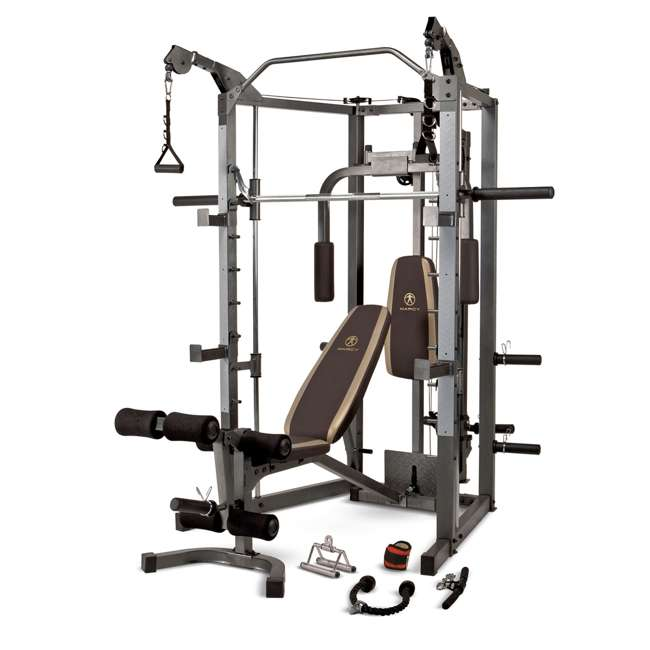 SM-4008 Marcy Combo Smith Strength Home Gym Machine